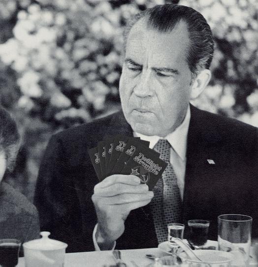 Nixon at work